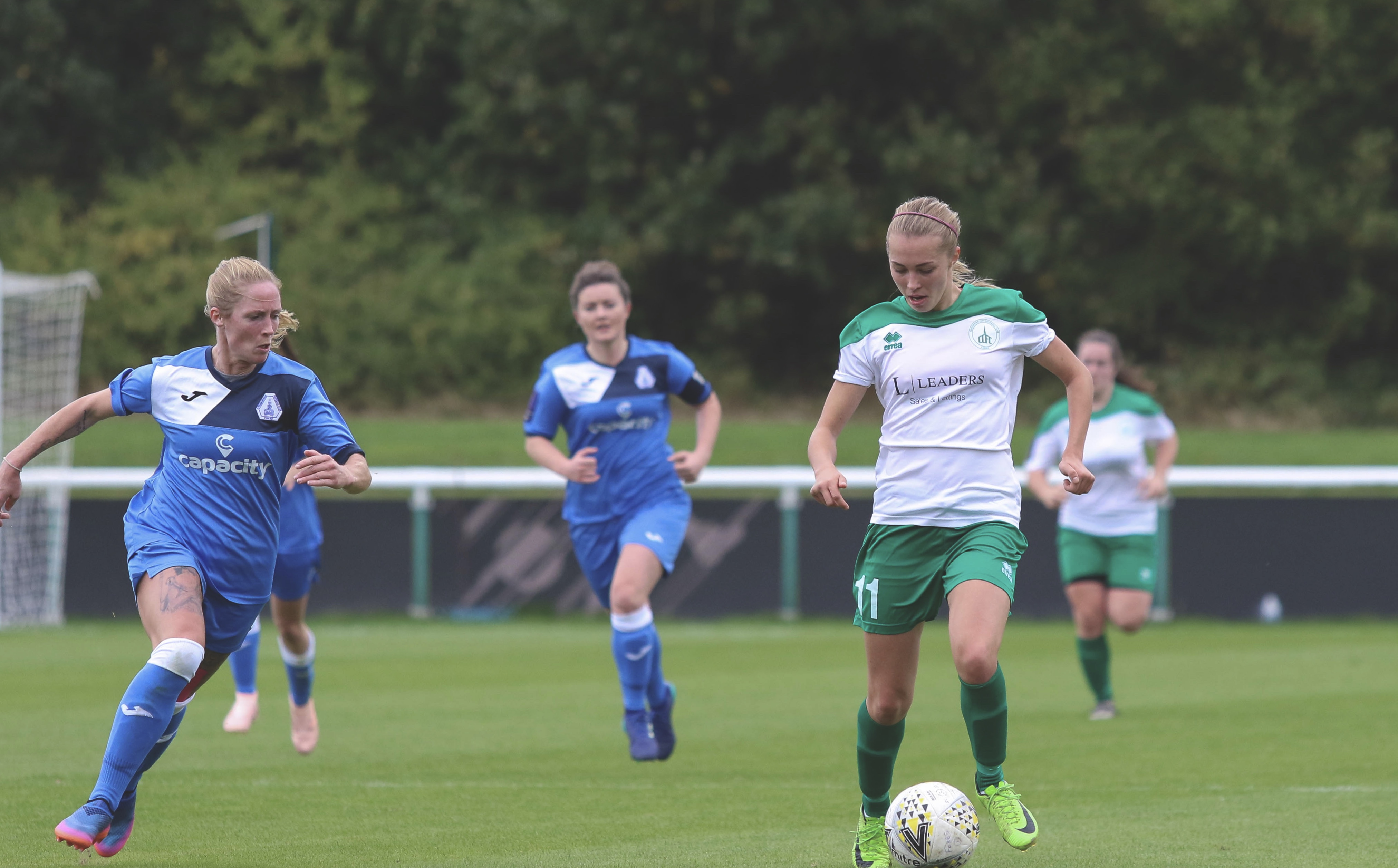Tash Stephens at Loughborough Foxes 0-1 Chichester City Ladies (30.09.18) Photo by Sheena Booker