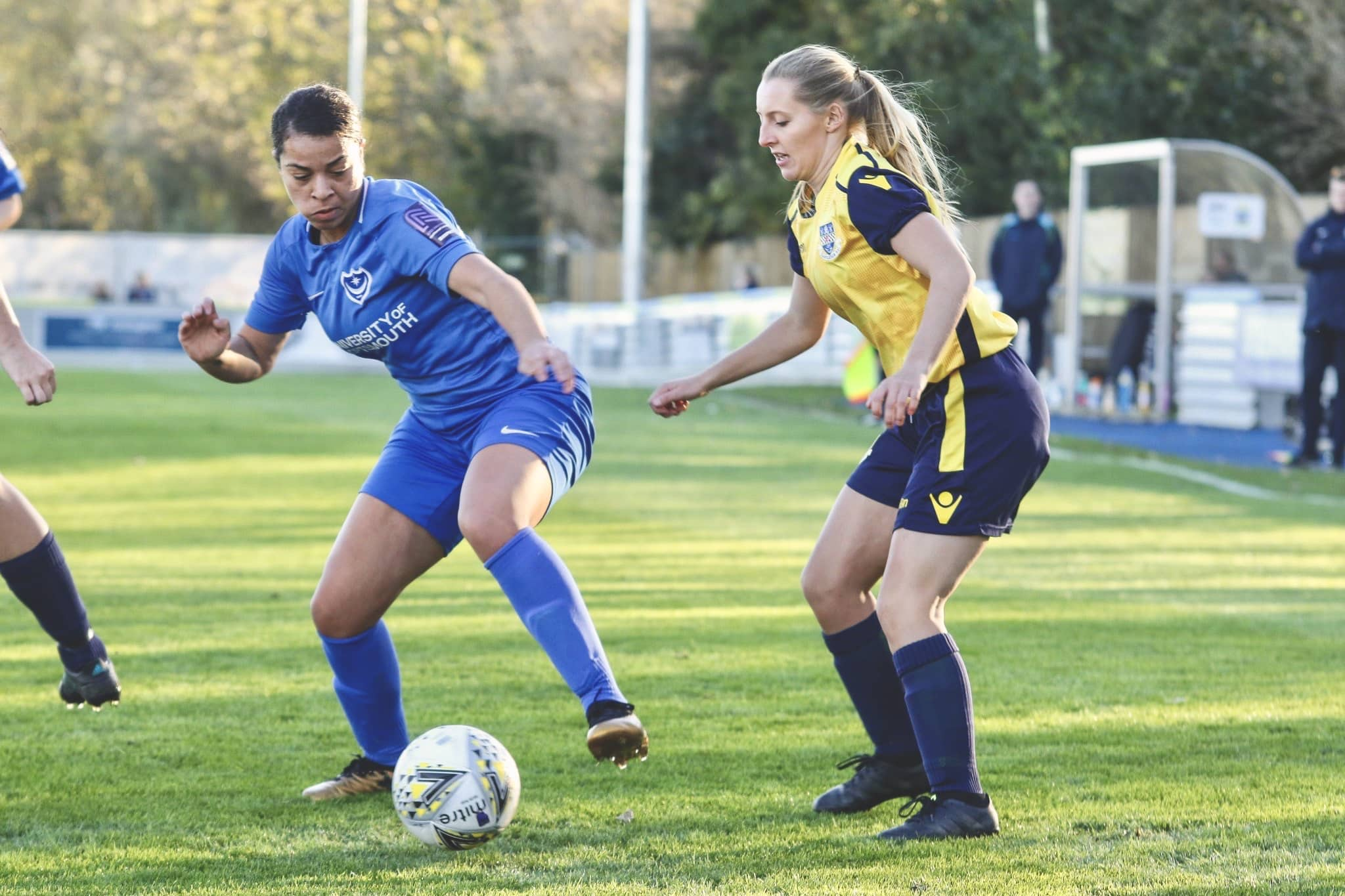 Portsmouth Womens v Eastleigh Ladies. Photo by Jordan Hampton