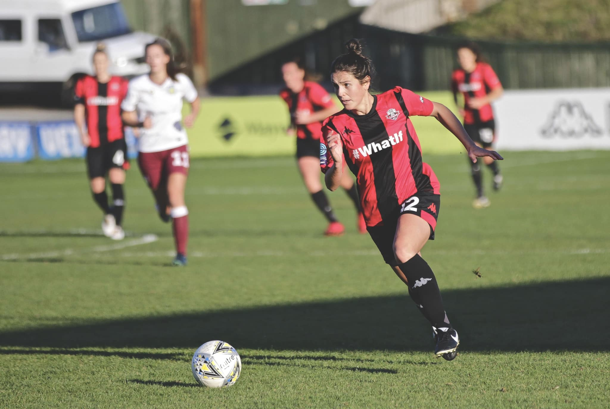 Lewes FC Women 1-1 Aston Villa Ladies. Photo by James Boyes
