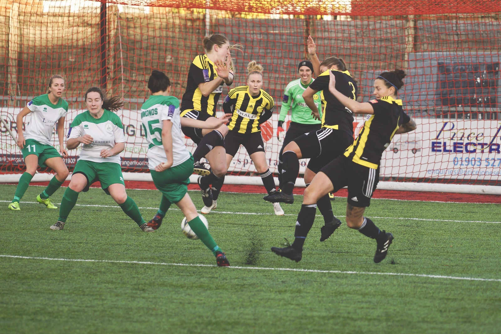 Crawley Wasps LFC (2) vs Chichester City LFC (0) on December 09, 2018 at Worthing FC, Woodside Road, Worthing, Worthing. Photo: Ben Davidson,