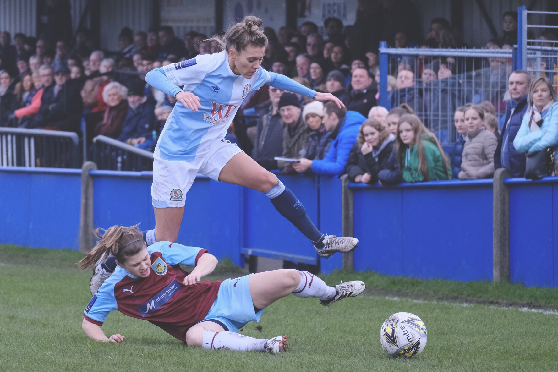 Lagan Makin in action for Rovers. Photo: @RoversLadies