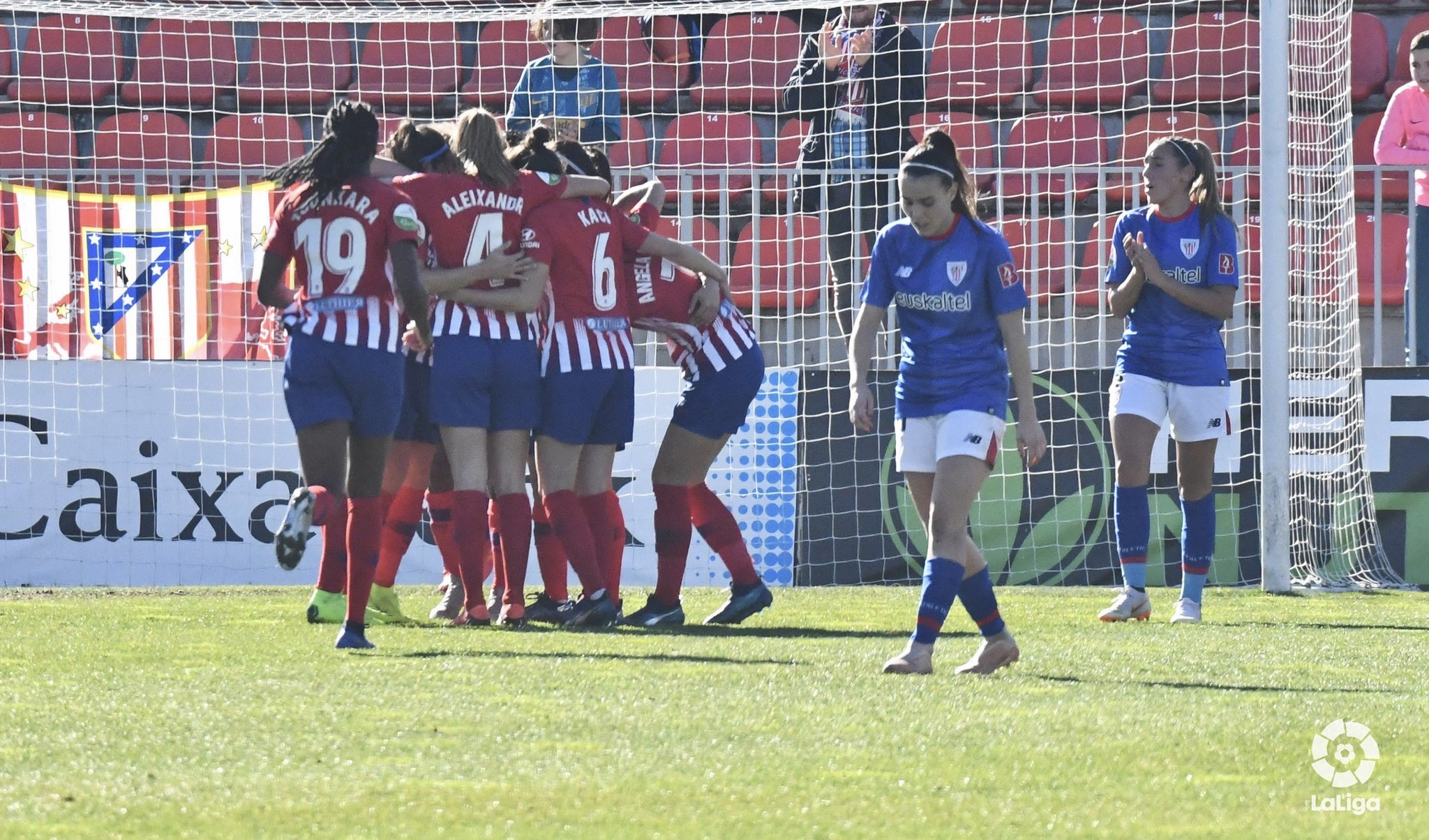 The Athletic Club for women has lost 3-0 against Atlético de Madrid.