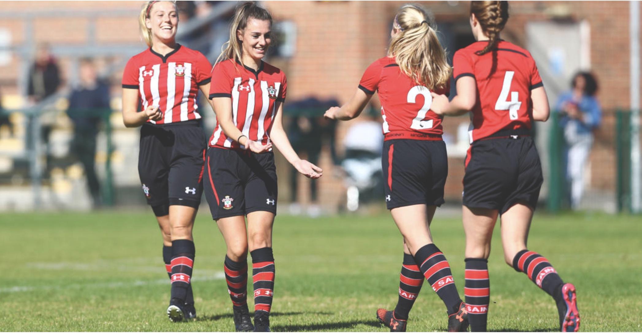 Southampton FC progress in Women's FA Cup.