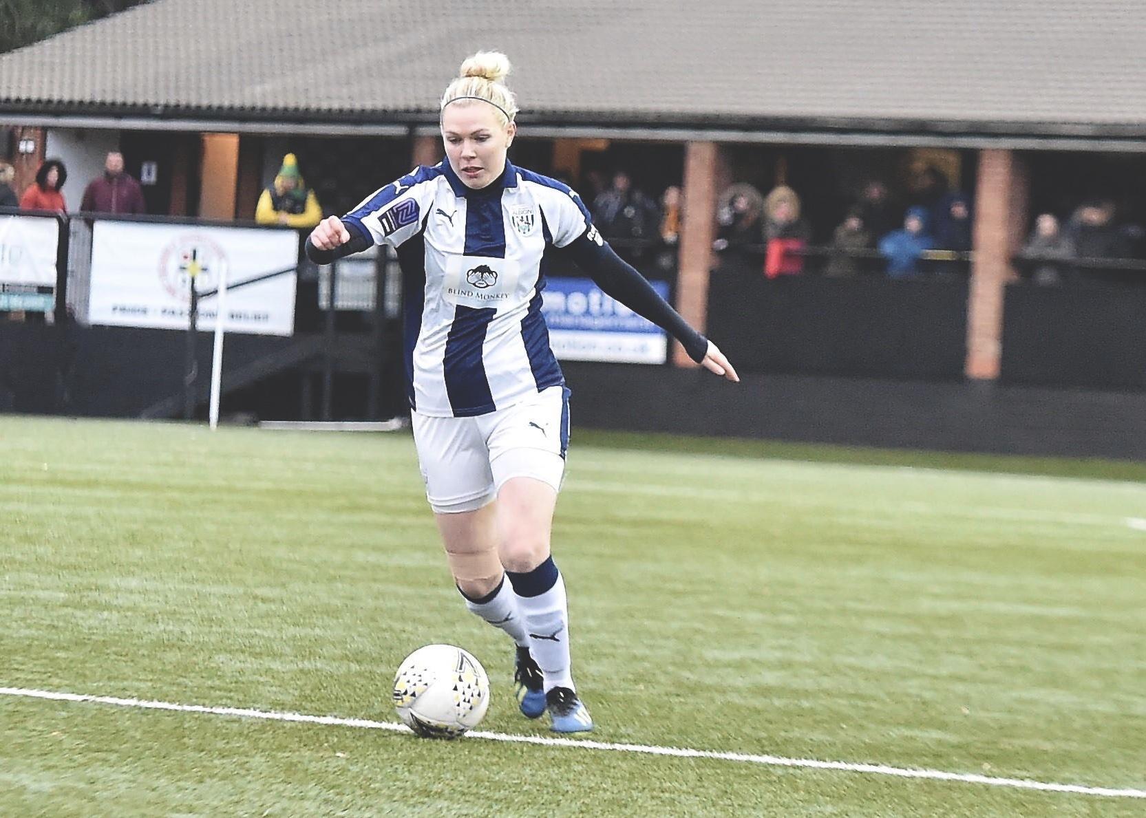West Bromwich Albion Women captain Hannah George