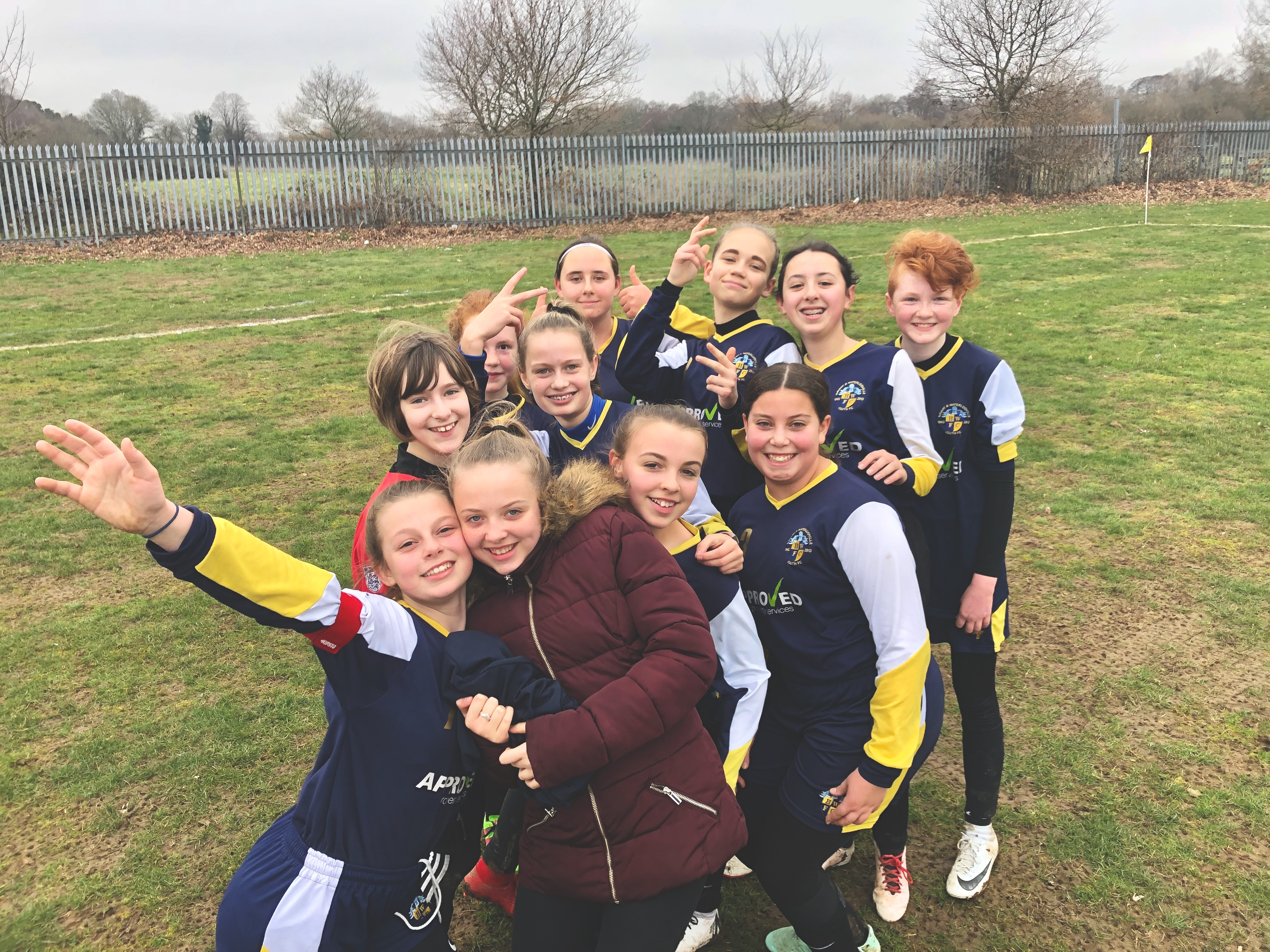 Havant & Waterlooville Girls post Pace Youth