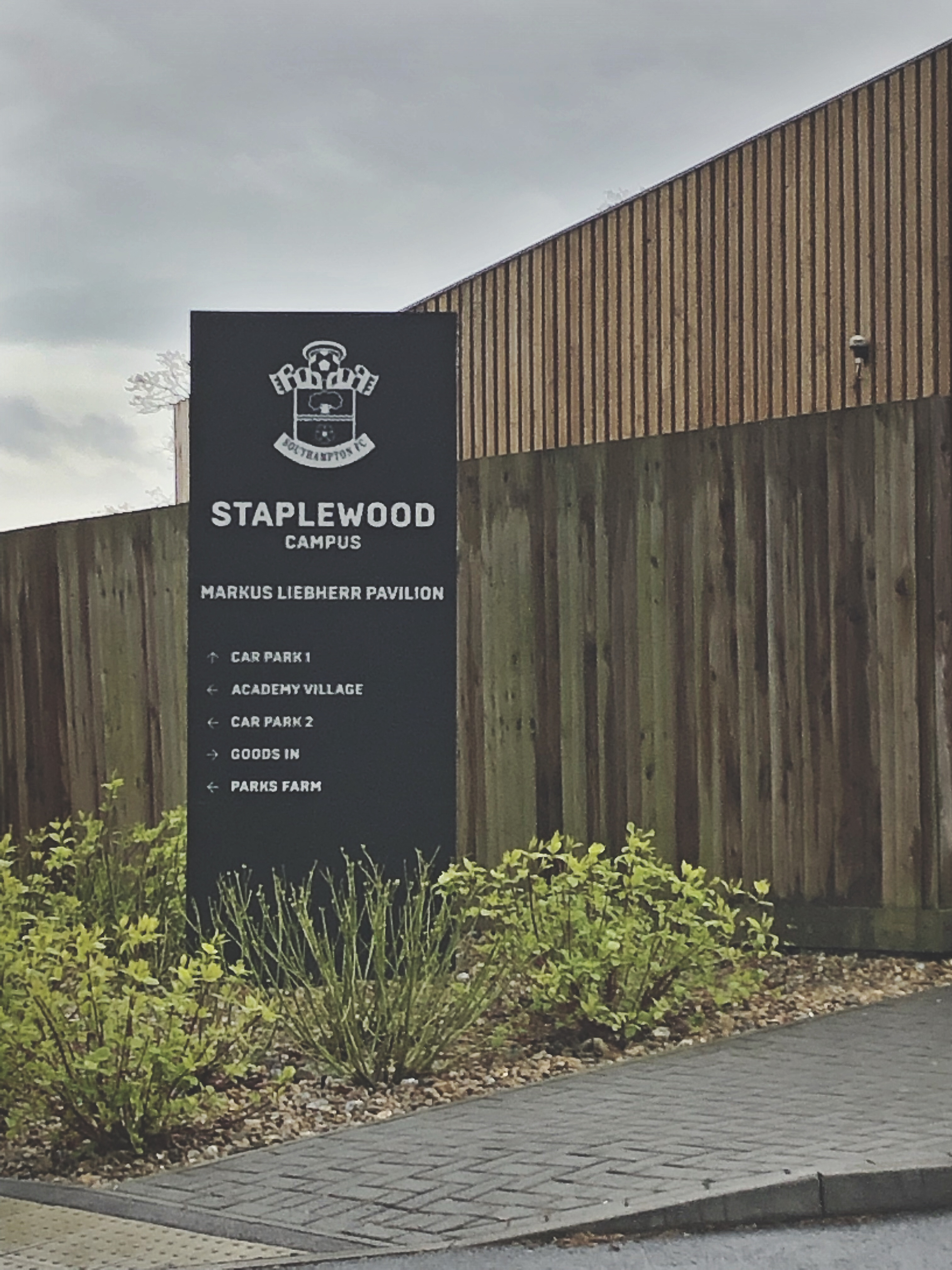 Southampton FC's Staplewood Training Ground