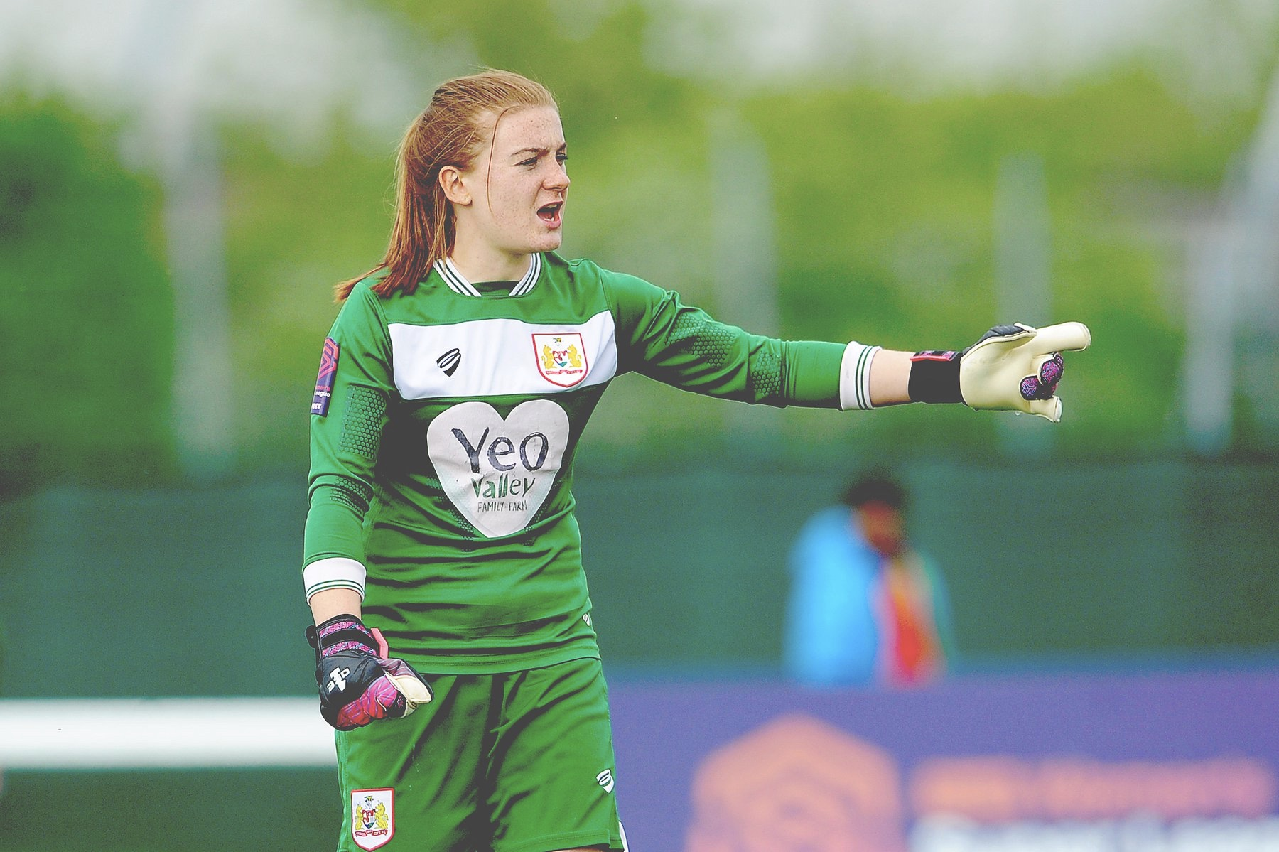 Bristol City's Sophie Baggaley was also named in the PFA team of the season.