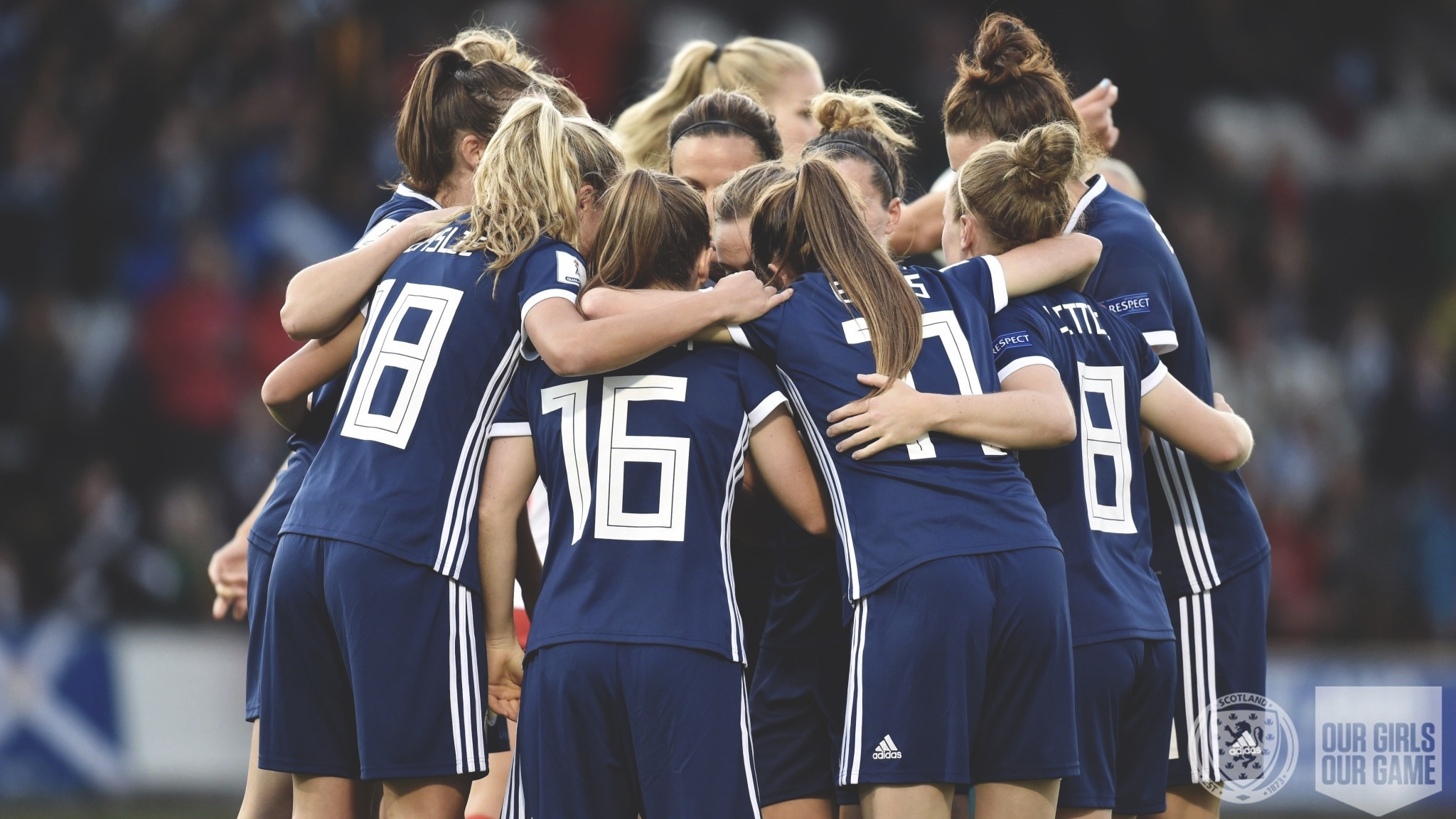 Scotland Women's National Team. Photo from @ScotlandNT