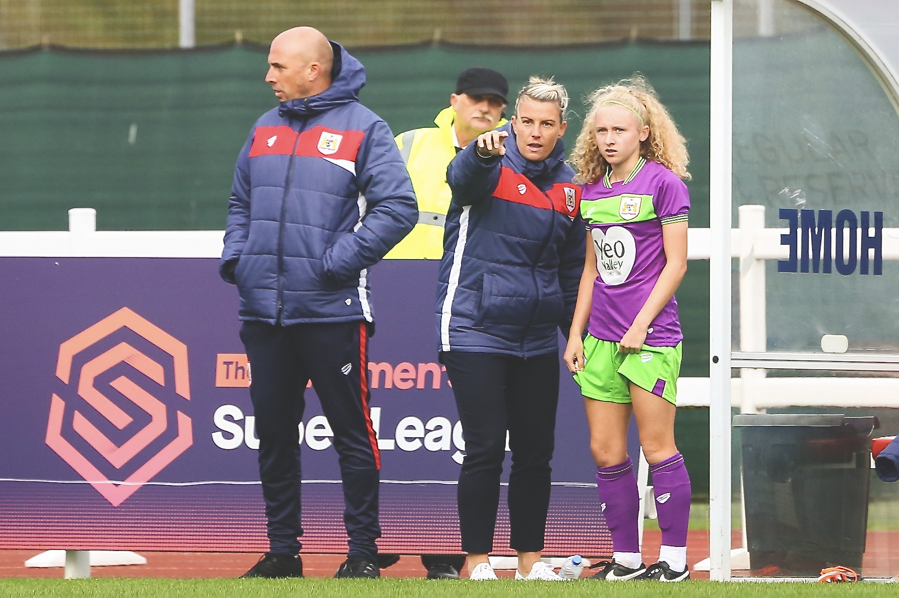 Academy product Katie Robinson made her debut against Birmingham City Women