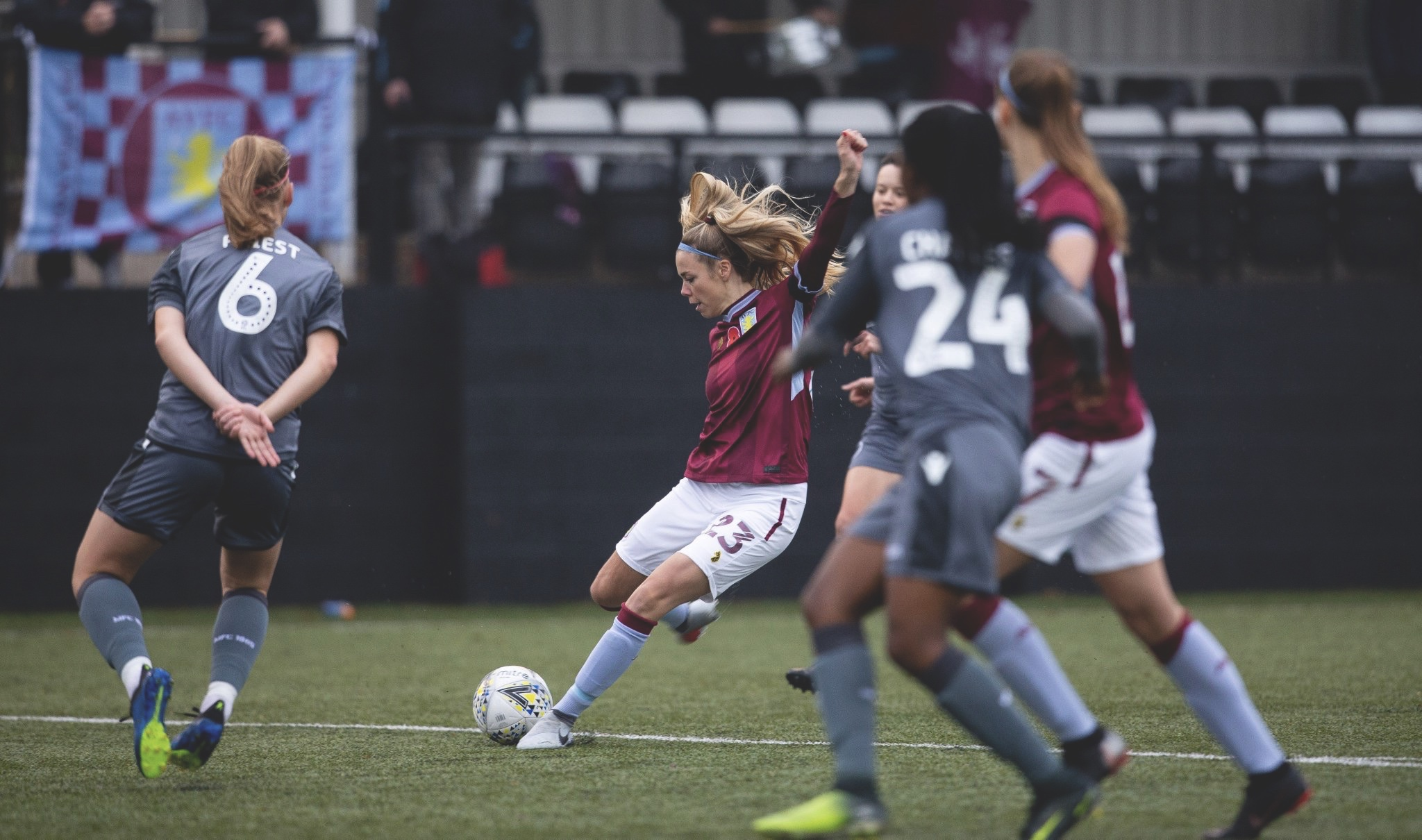 Nadine Hanssen takes aim for Aston Villa Ladies