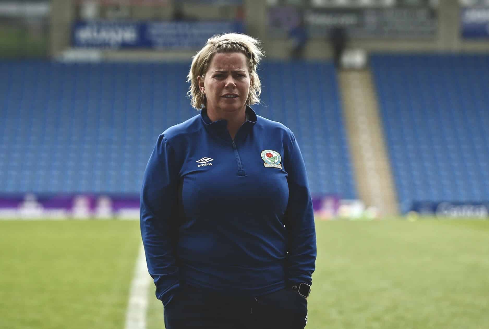 Blackburn Rovers manager, Gemma Donnelly.