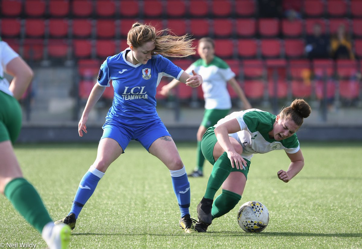 Chloe Lloyd in action against Chichester City's Molly Clark