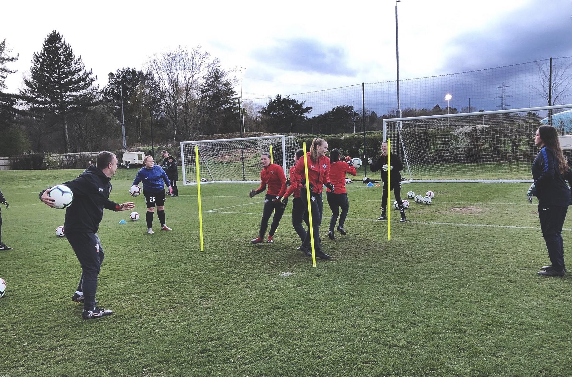 Southampton FC Girls Football Week